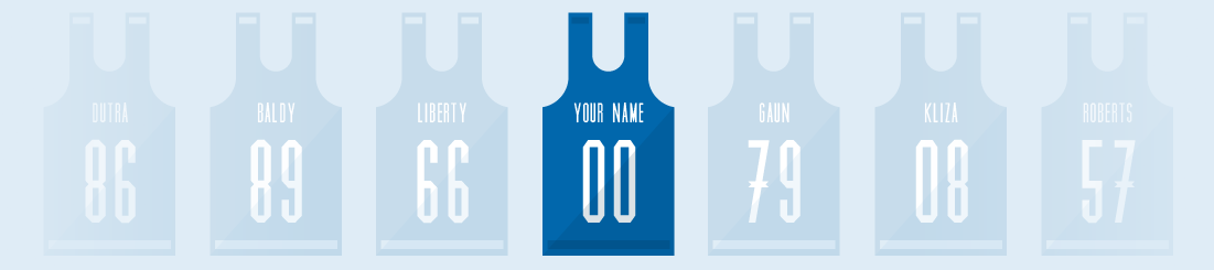 Jerseys with 'Your Name Here'