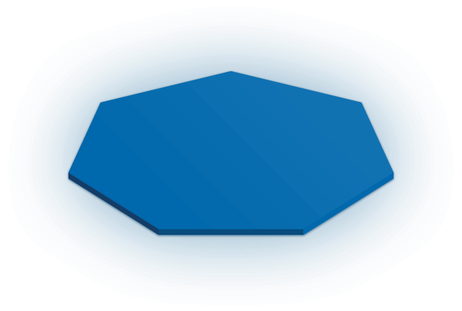 Heptagon bottom